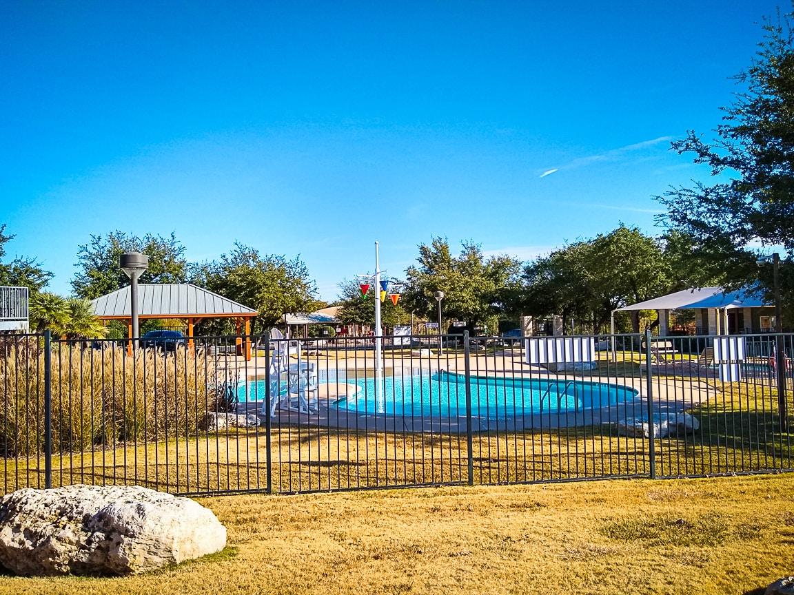"""Pool Weather in November"" Cedar Park, 2018"