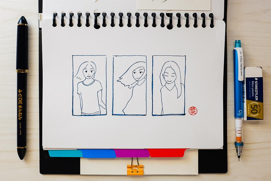 """Triptych"" Cedar Park, 2018"