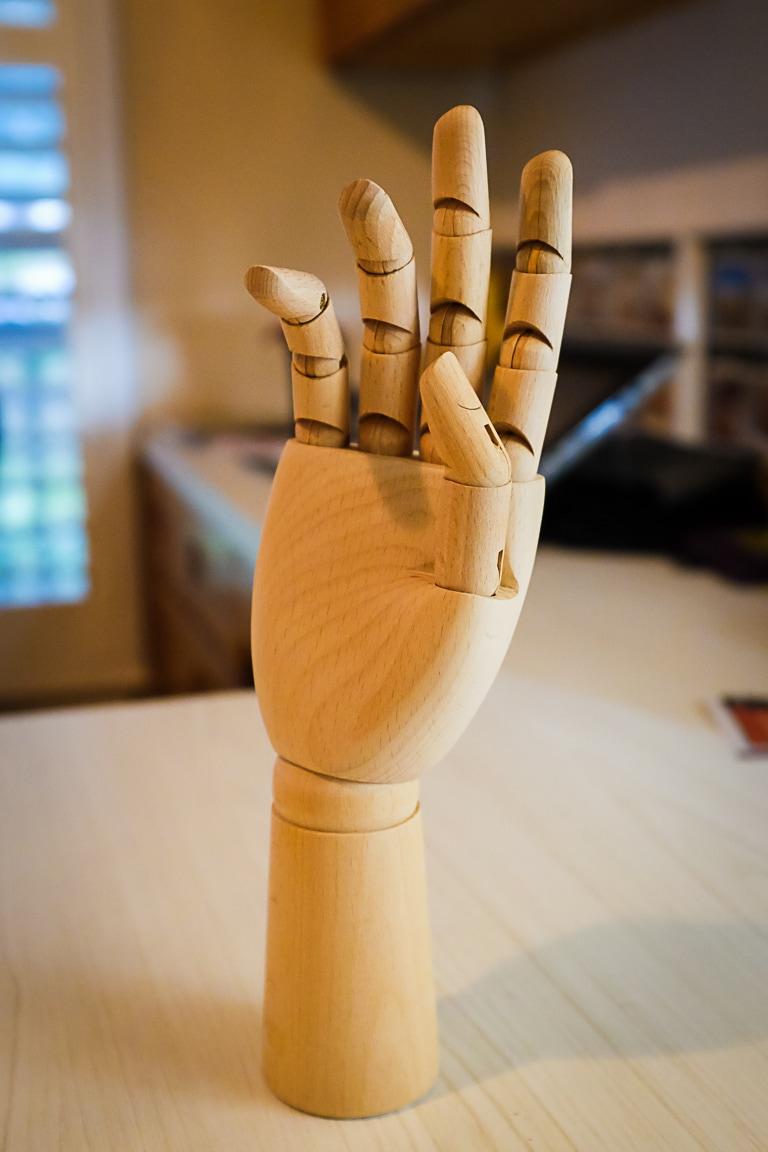 """""""Wooden Hand"""" Cedar Park, 2018"""