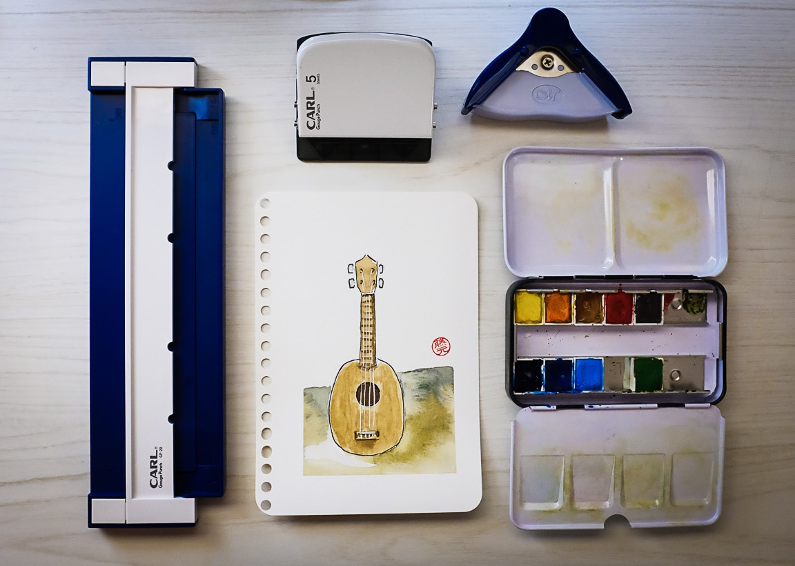 """Watercolor Set"" Cedar Park, 2018"