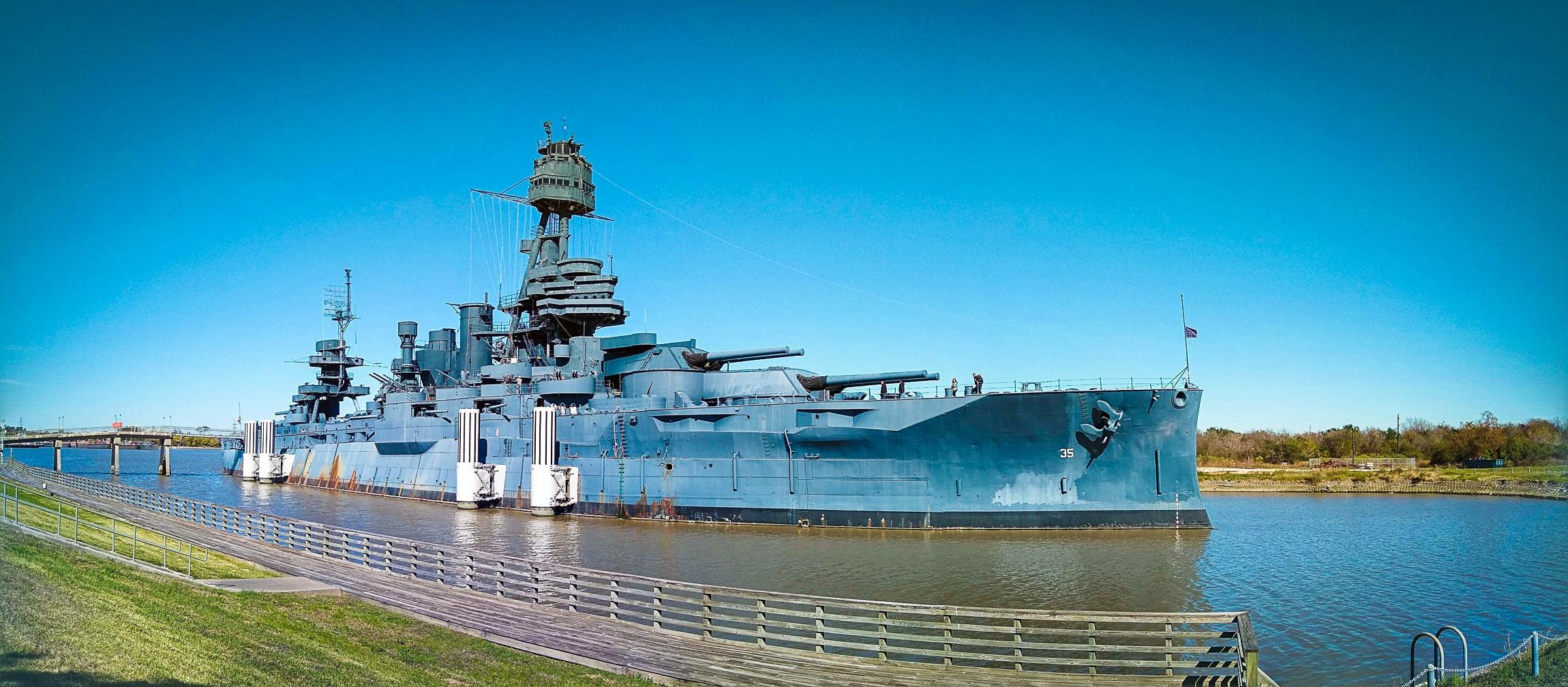 """""""Battleship Texas"""" La Porte, 2018"""