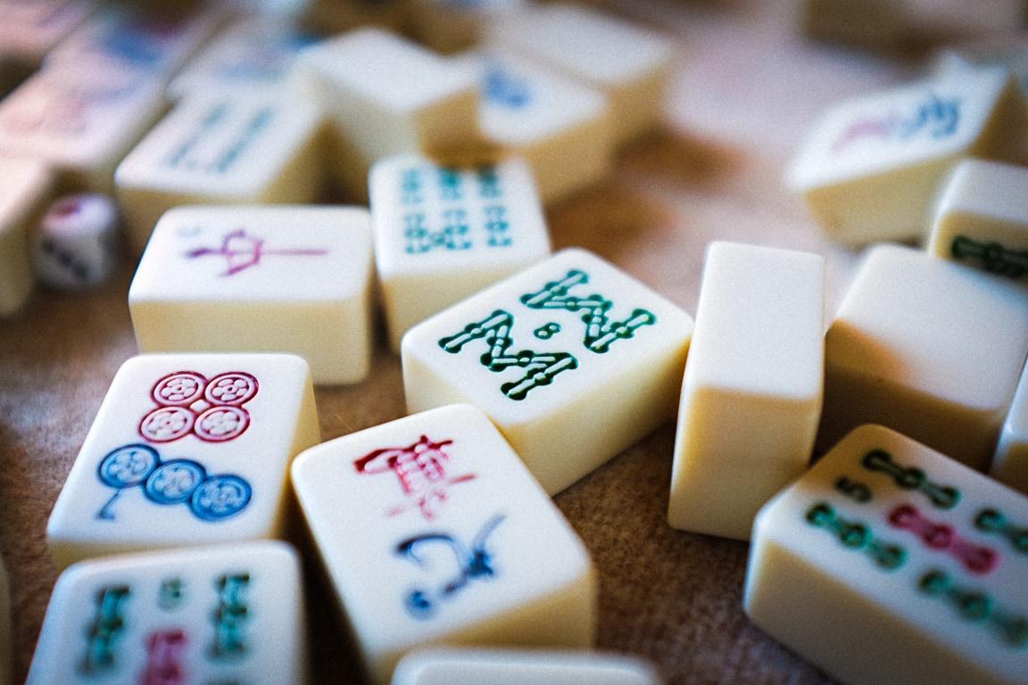 """Mahjong Tiles"" Torrance, 2019"