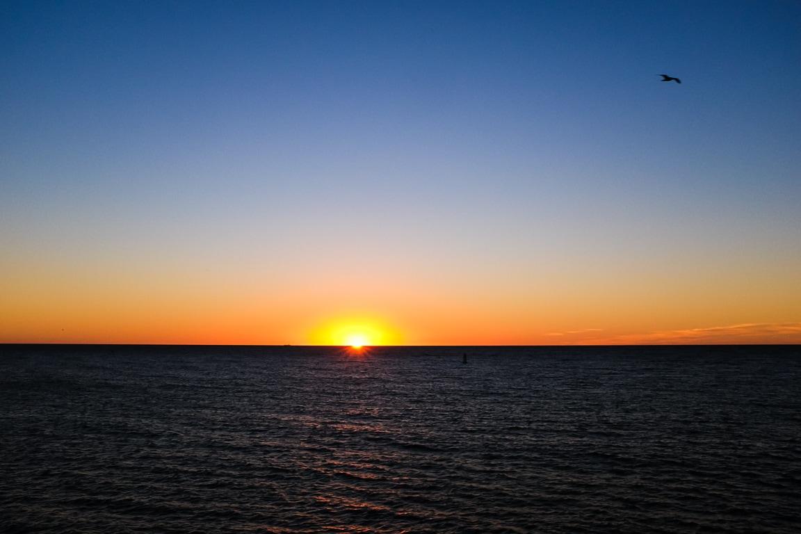 """""""Bye-bye Sun"""" Redondo Beach, 2019"""