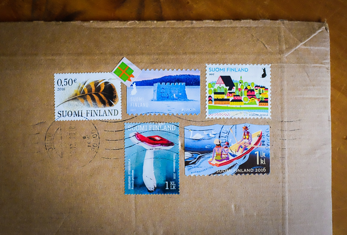 """Finnish Stamps"" Cedar Park, 2019"