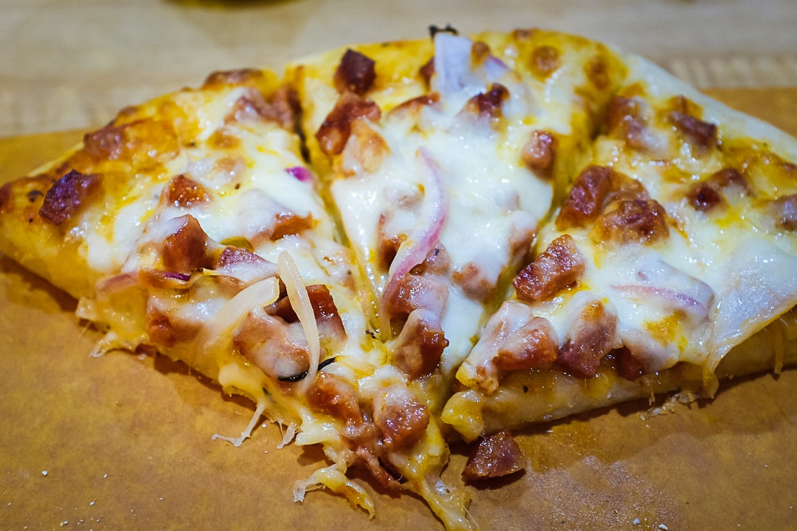 """Portuguese Sausage Pizza"" Cedar Park, 2019"