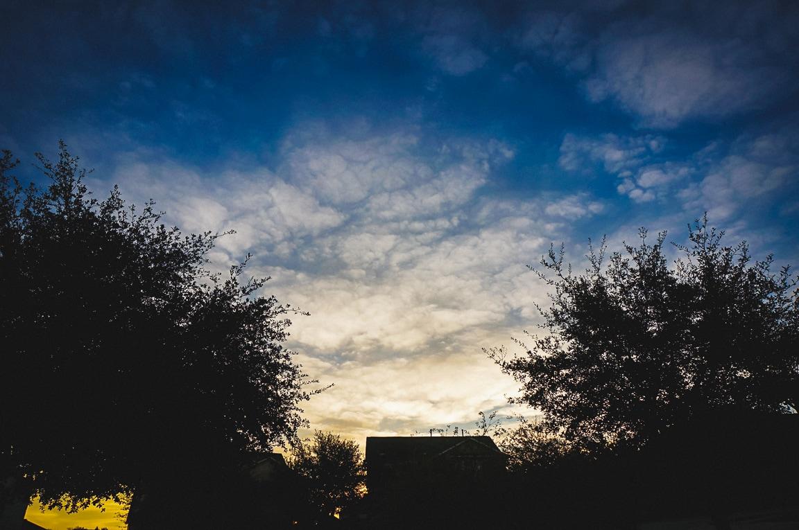 """""""Delicate Clouds"""" Cedar Park, 2019"""