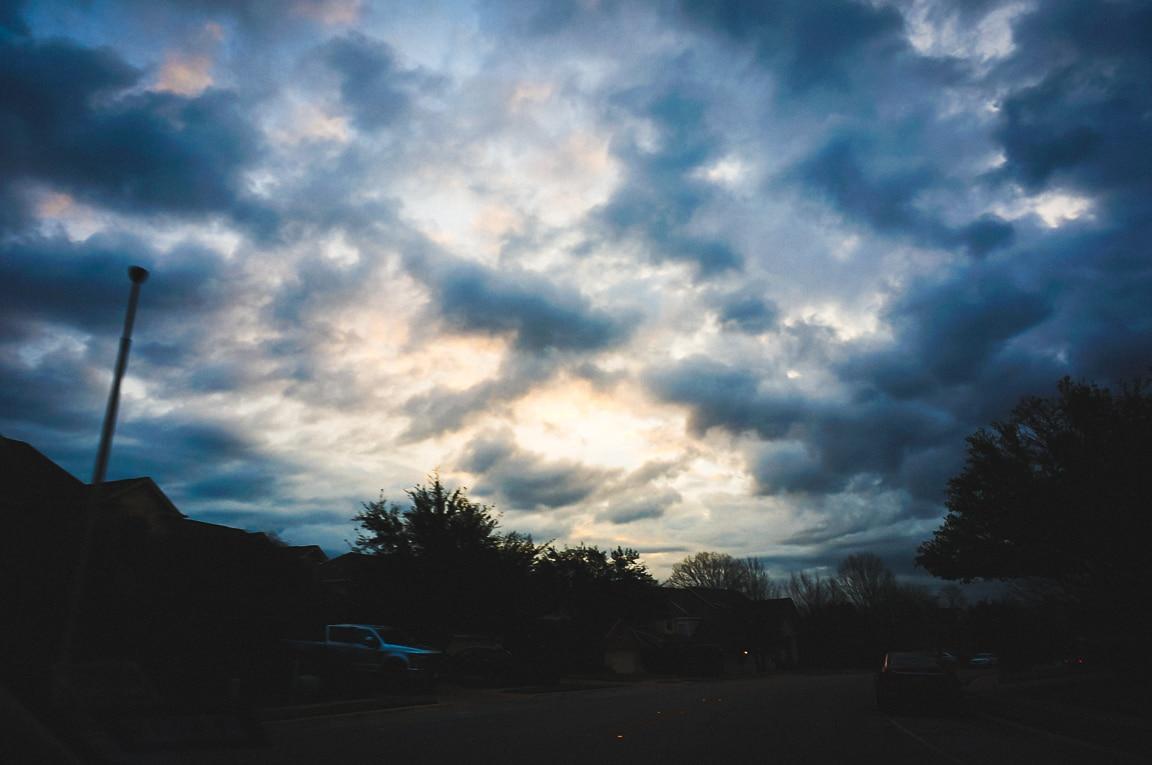 """""""Cloudy Morning"""" Cedar Park, 2019"""