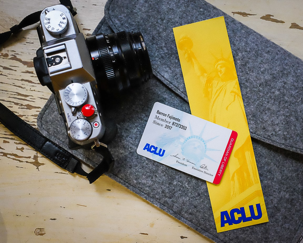 """ACLU Card and Bookmark"" Cedar Park, 2019"