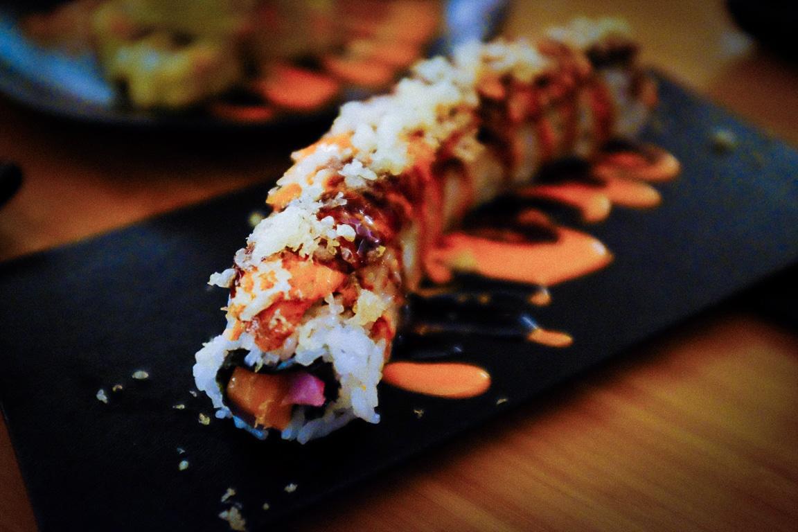 """""""Sushi Roll"""" Austin, 2019"""