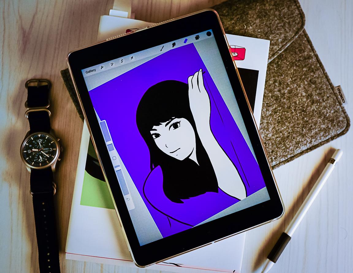 """""""iPad Sketch"""" Cedar Park, 2019"""