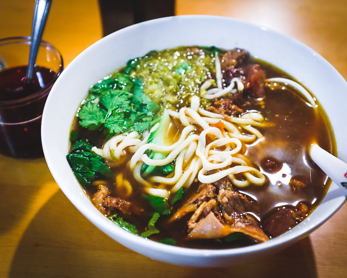 """Red Braised Beef Noodles"" Austin, 2019"