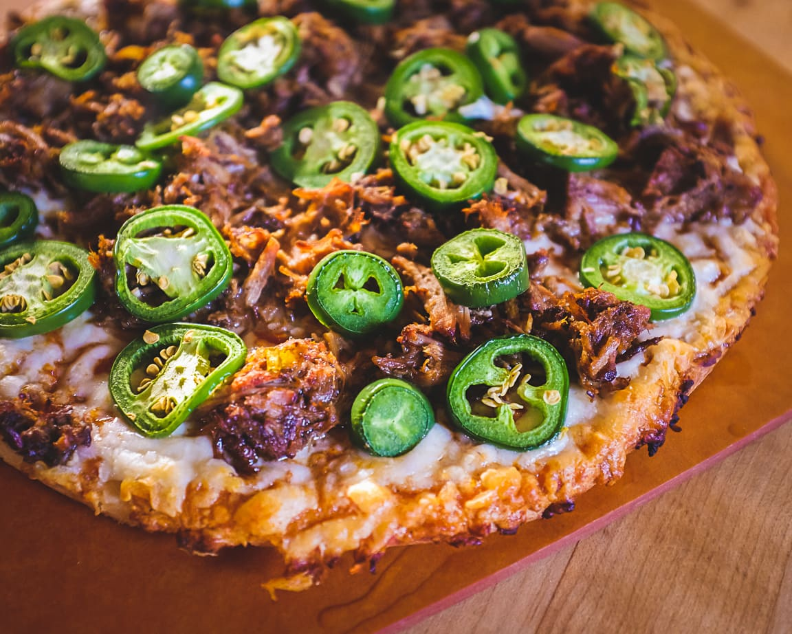 """Carnitas and Jalapeño Pizza"" Cedar Park, 2019"