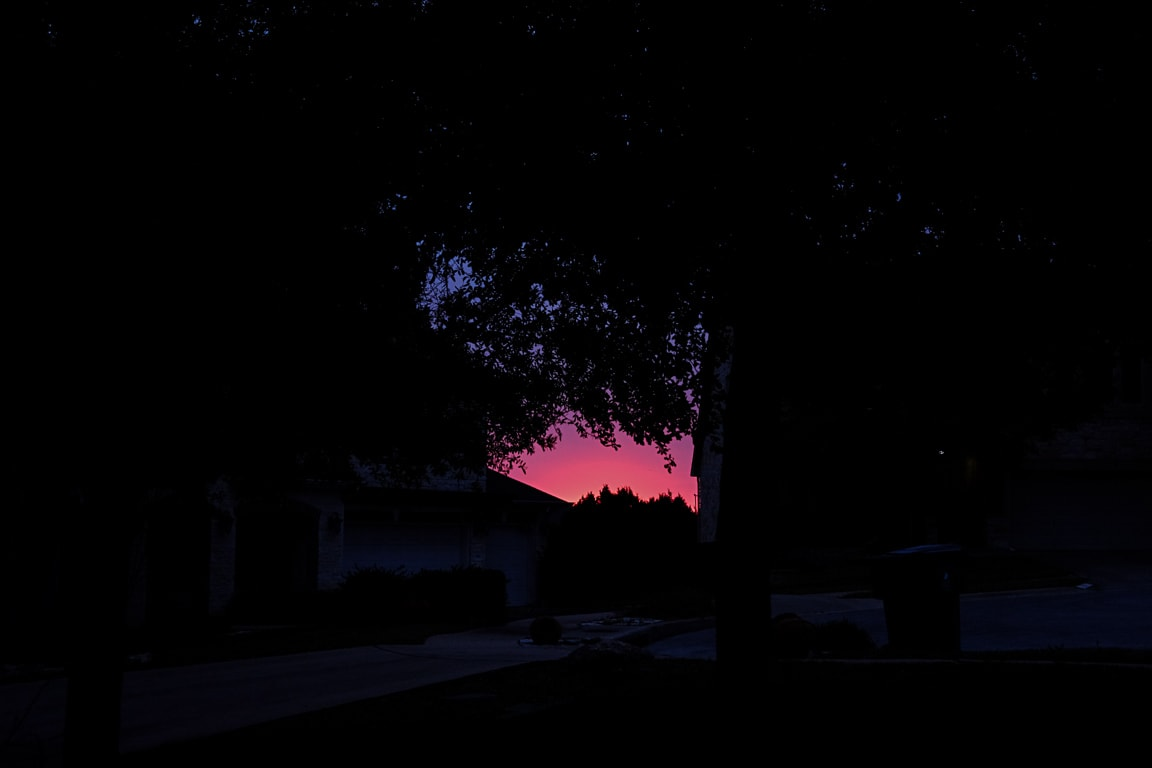 """Morning Glow"" Cedar Park, 2018"