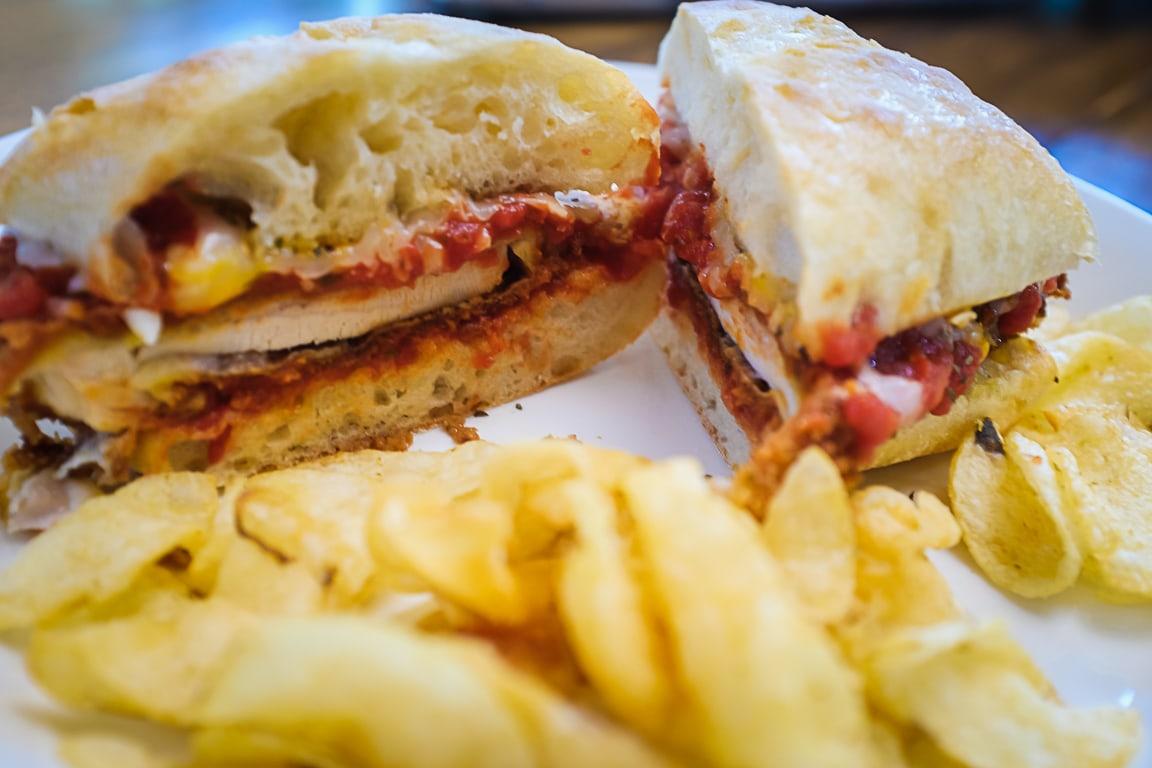 """Chicken Parmesan Sandwich"" Cedar Park, 2019"