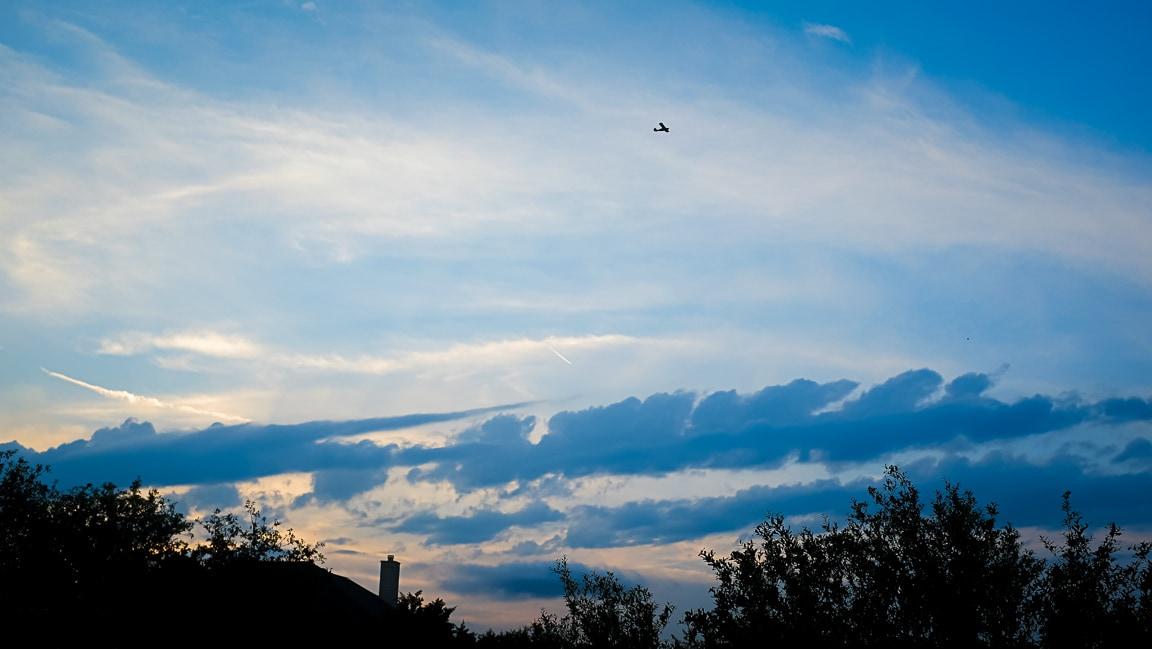 """""""Clearing Skies"""" Cedar Park, 2019"""