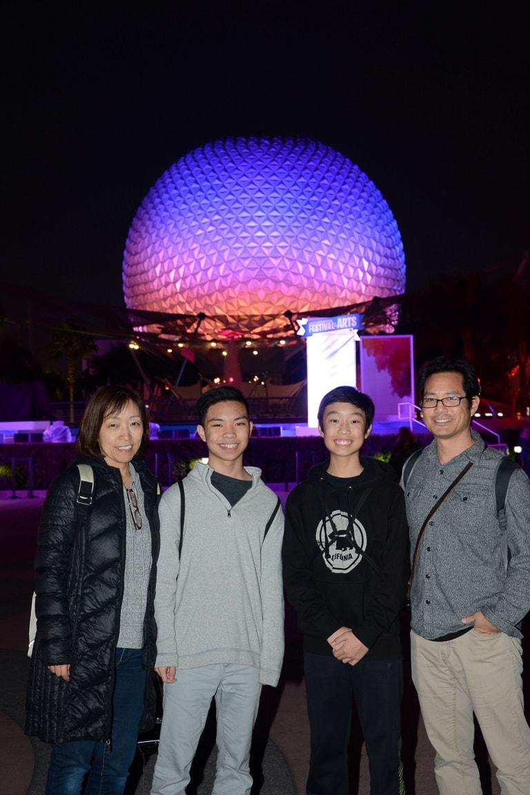 """EPCOT Family"" Orlando, 2017"
