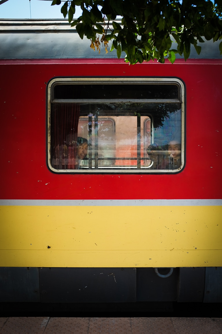 """""""On the Train"""" Fes, 2017"""