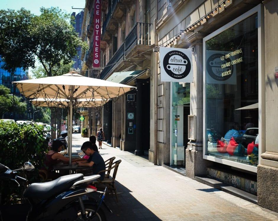 """""""Alsur Cafe"""" Barcelona, 2017"""