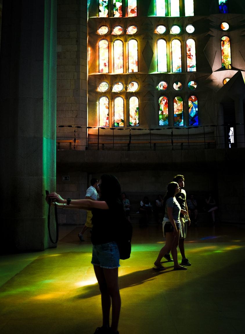 """La Sagrada Selfie"" Barcelona, 2017"