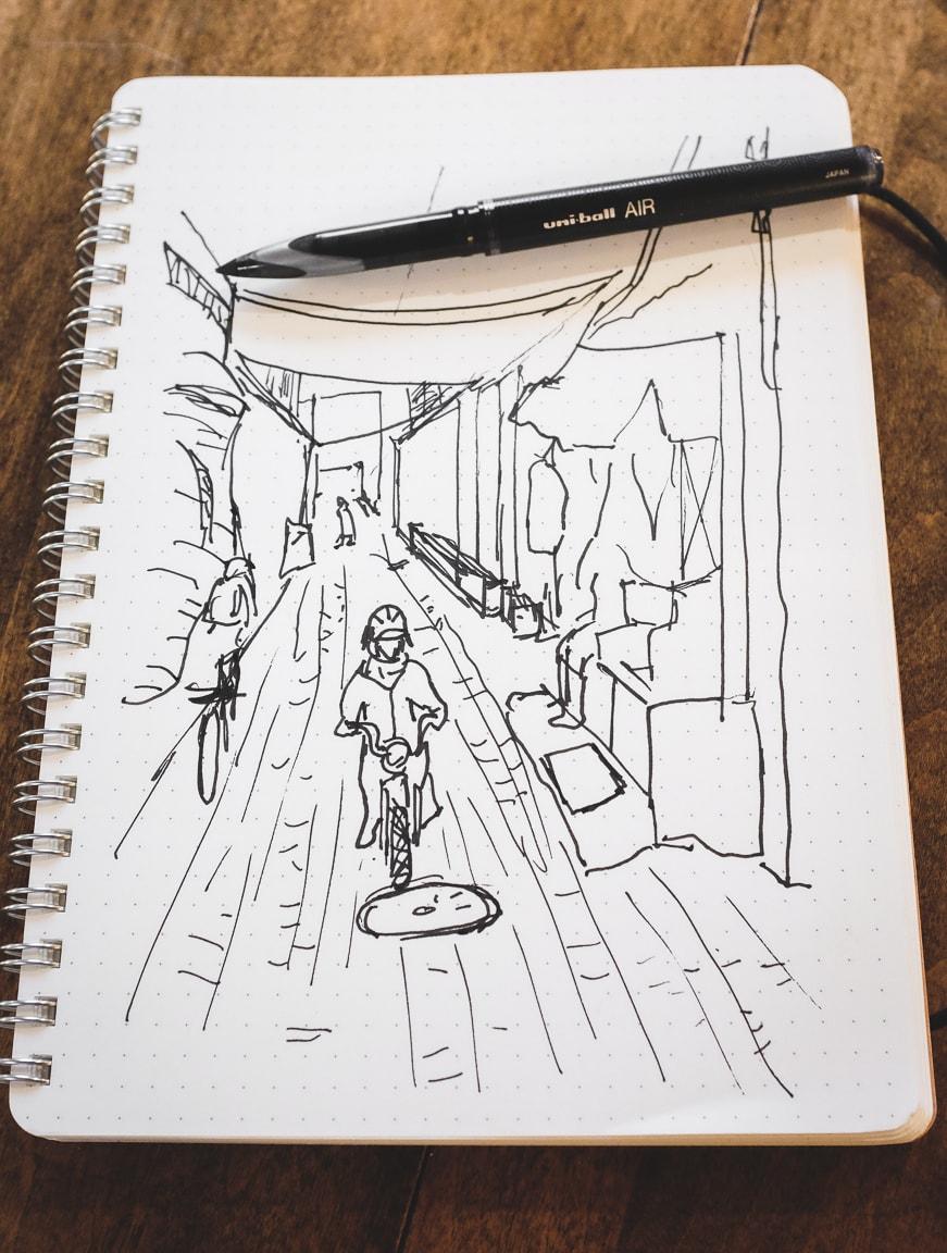 """Sketch"" Cedar Park, 2017"