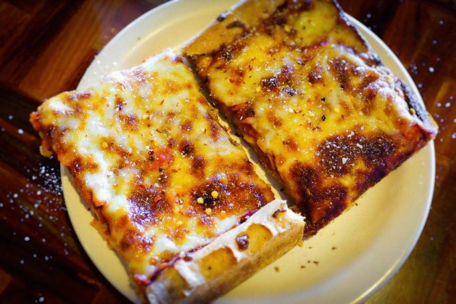 """Twin Pizzas"" Austin, 2017"