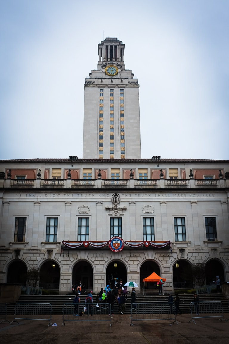 """UT Tower"" Austin, 2017"