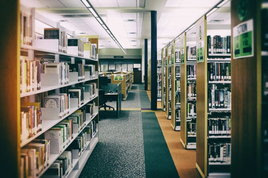 """Deserted Library"" Cedar Park, 2017"