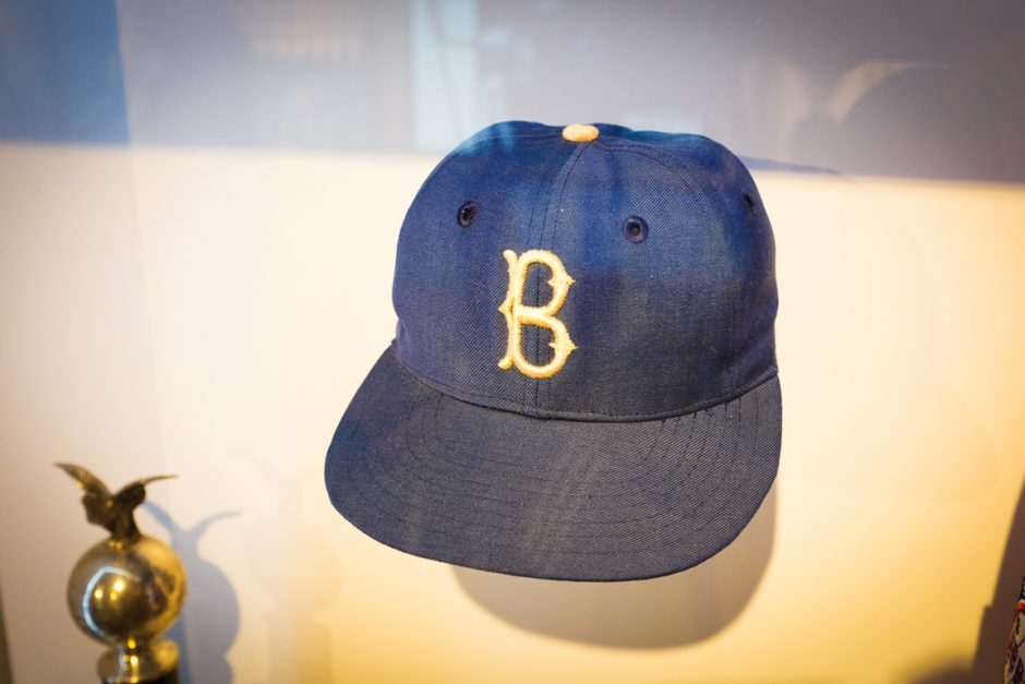 """Jackie Robinson's World Series Cap"" Round Rock, 2017"