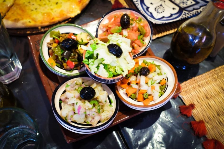 """Moroccan Salads"" Marrakech, 2017"