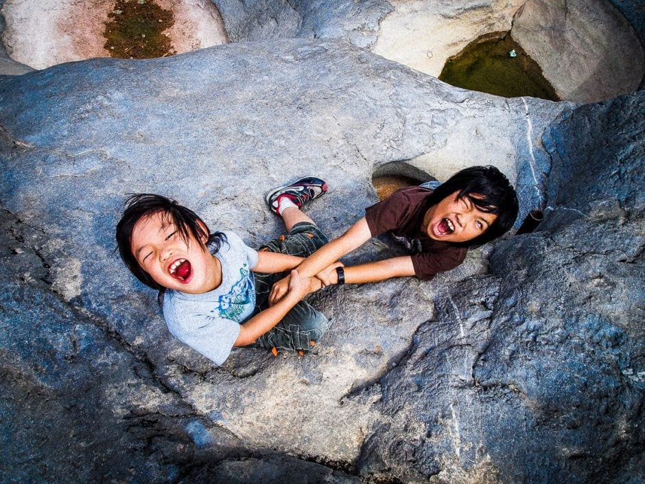 """""""危ない"""" Pedernales Falls, 2011"""